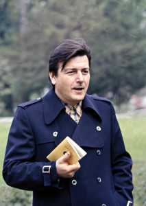 Fulvio Tomizza nel 1974 in una foto di Claudio Ernè.