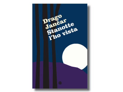 """La copertina di """"Stanotte l'ho vista"""" di Drago Jančar, Comunicarte Edizioni 2015"""
